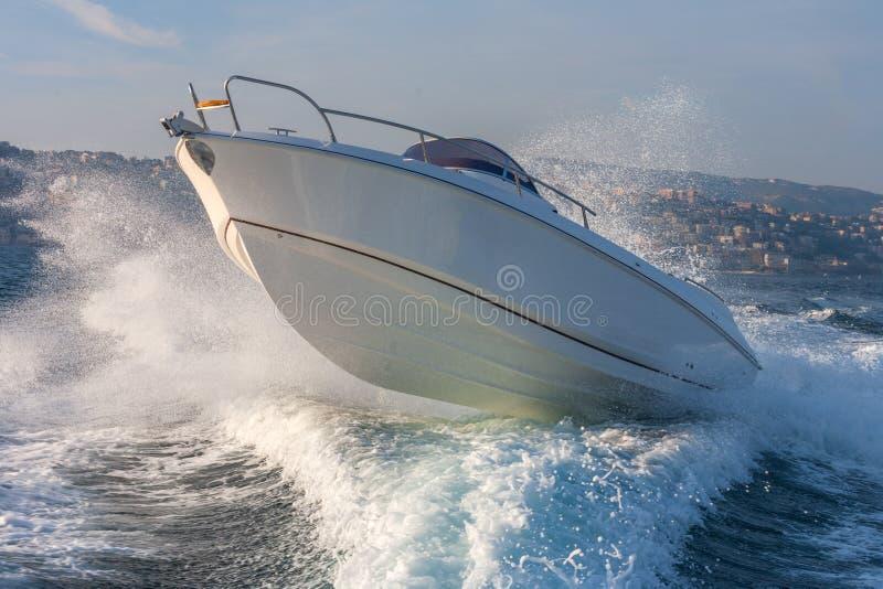 Barco de motor foto de archivo