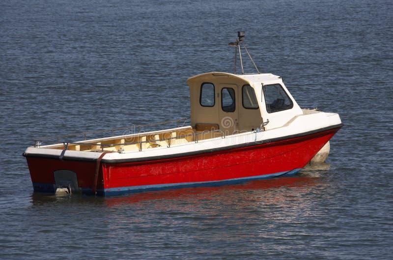 Barco de motor de madeira pequeno imagem de stock royalty free