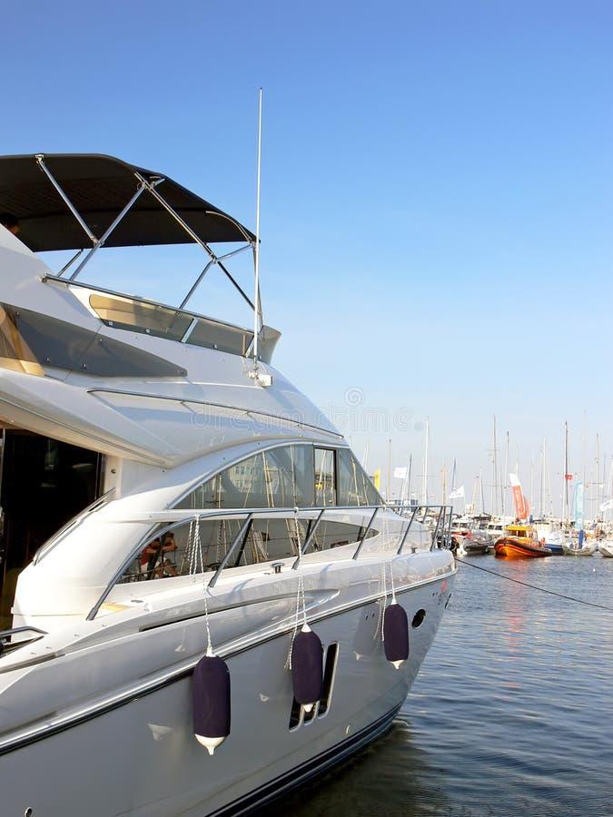 Barco de motor luxuoso foto de stock royalty free