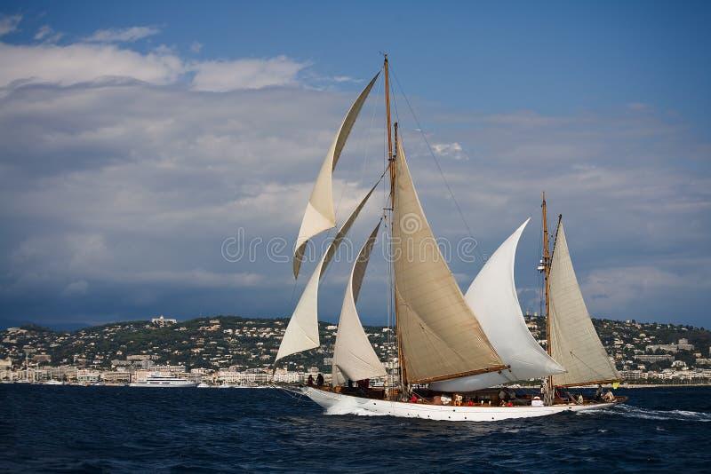 Barco de navigação velho foto de stock royalty free