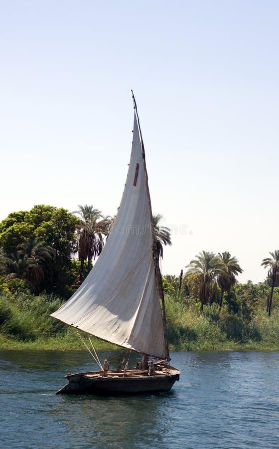 Barco de Nile imagem de stock
