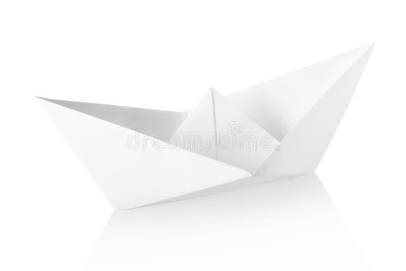 Barco de papel fotografía de archivo libre de regalías
