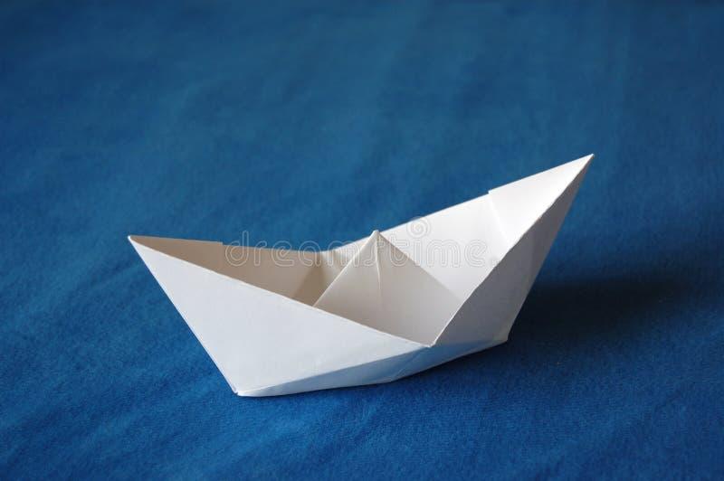 Barco de papel imagen de archivo