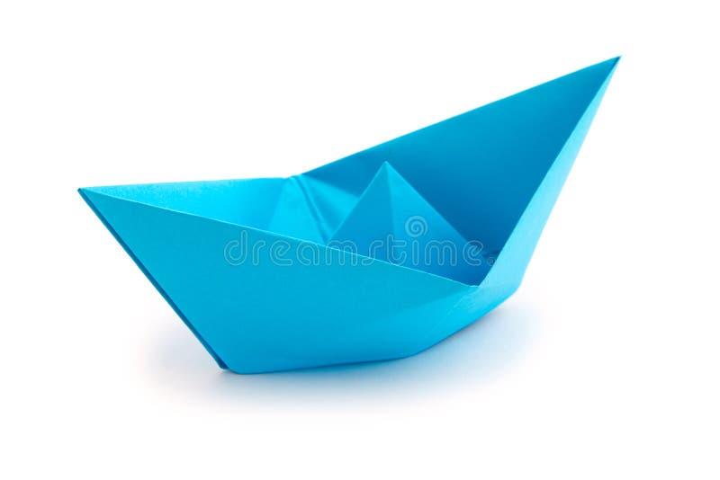 Barco de papel de Origami foto de archivo
