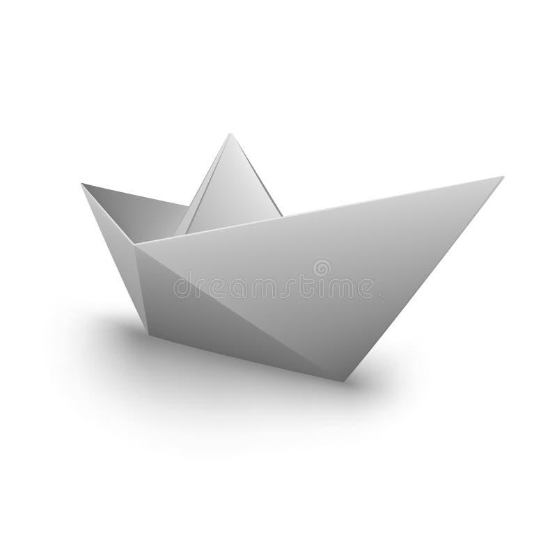 Barco de papel del VECTOR ilustración del vector