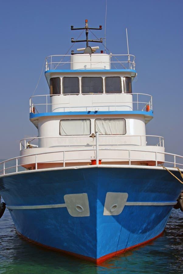 Barco de passageiros agradável imagem de stock