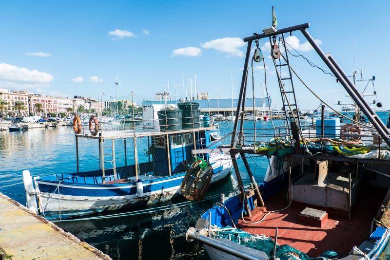 Barco de pesca de Cerdeña fotos de archivo libres de regalías