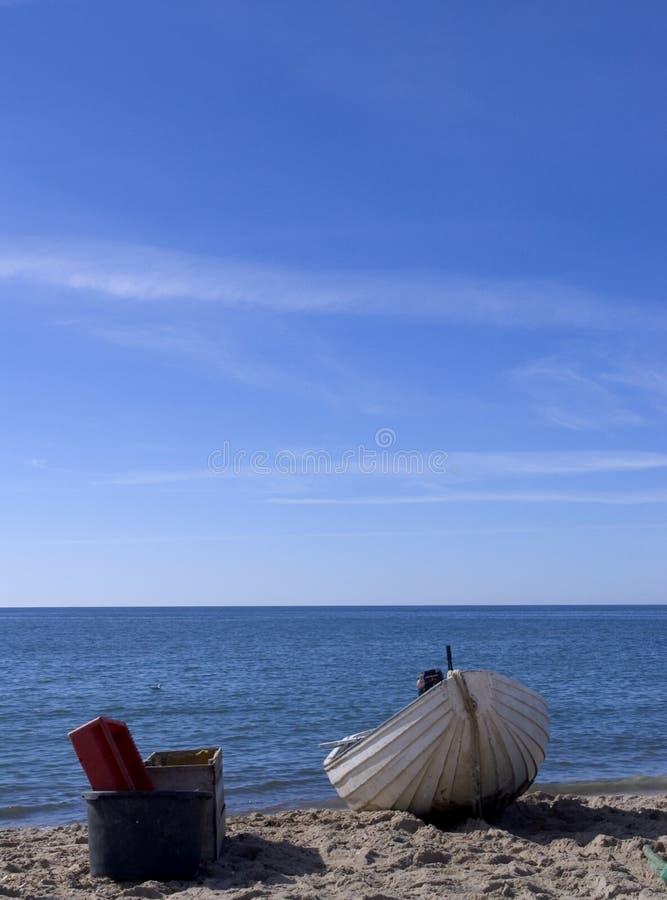 Barco de pesca do caranguejo imagem de stock royalty free