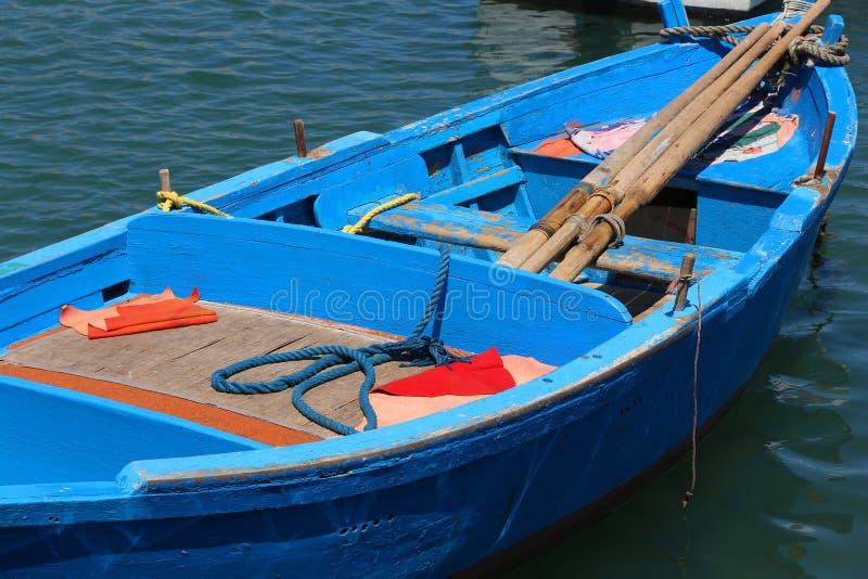 Barco de pesca italiano imágenes de archivo libres de regalías