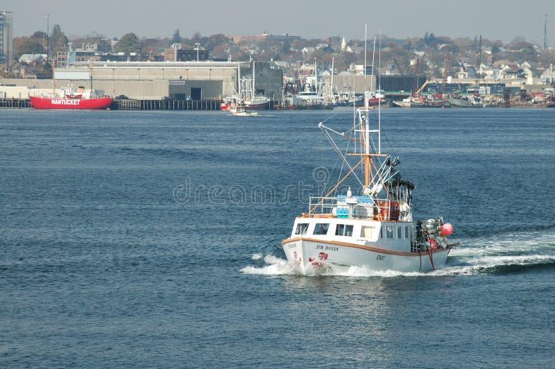 Barco de pesca Jim Dandy fotografia de stock royalty free