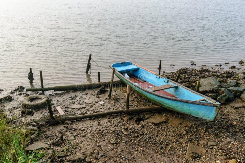 Barco de pesca mexicano fotos de archivo