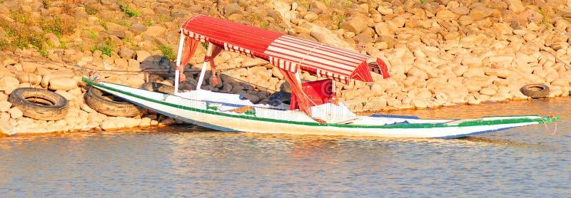 Barco de Shikara imagens de stock royalty free