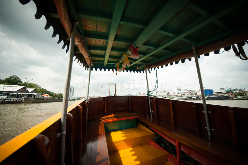 Barco de Tailândia fotografia de stock royalty free
