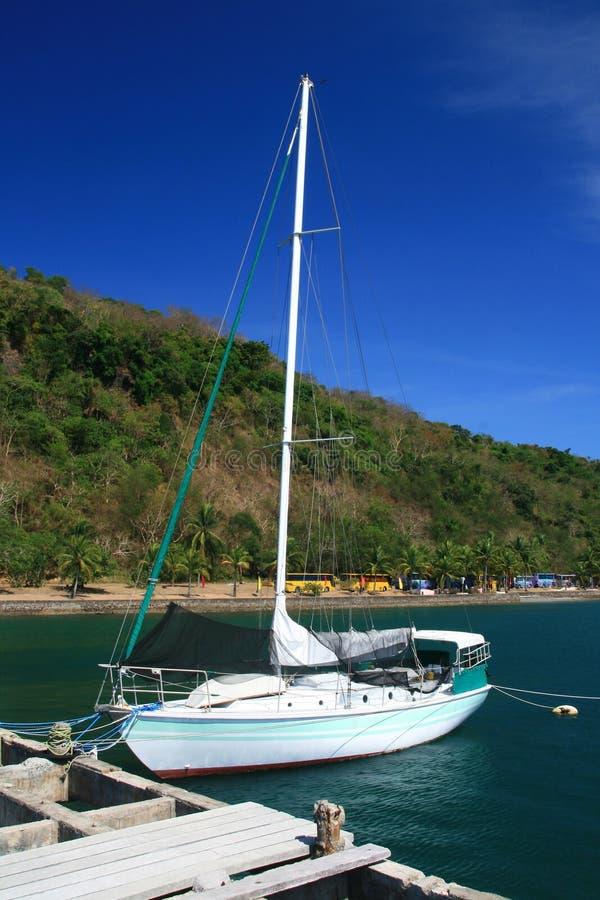 Barco de vela imagem de stock royalty free