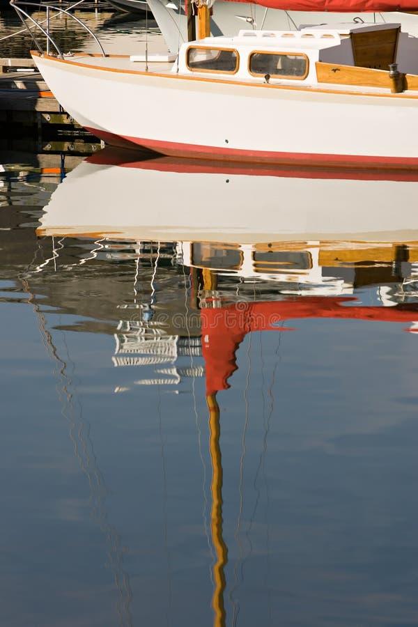 Barco de vela clássico imagens de stock