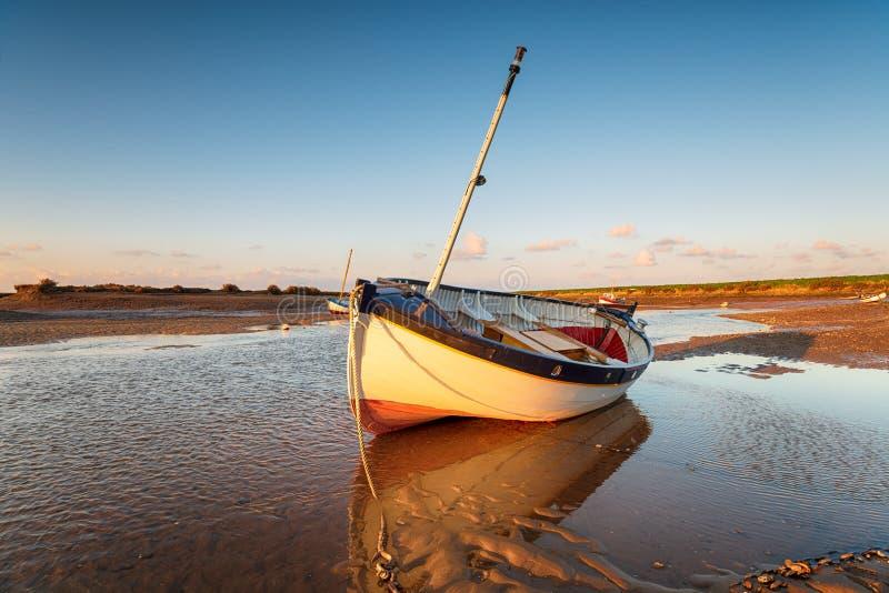 Barco de vela em Norfolk fotos de stock royalty free