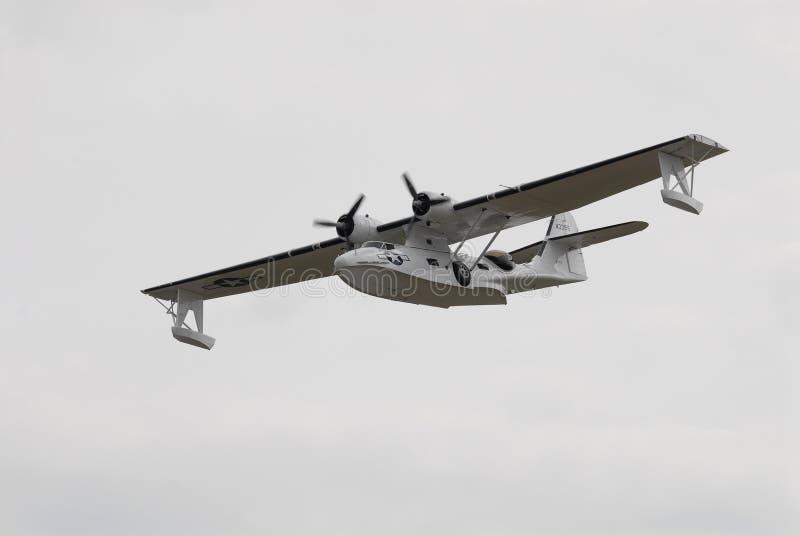 Barco de vuelo de Catalina fotografía de archivo libre de regalías