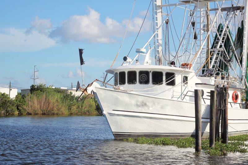 Barco del camar?n de Luisiana fotografía de archivo libre de regalías