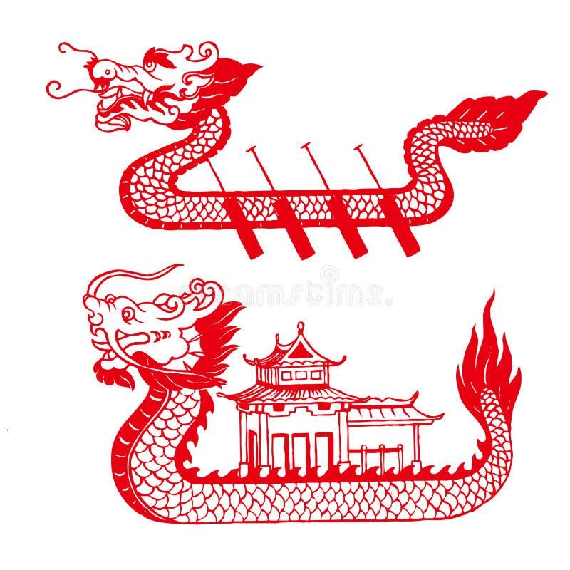 Barco del dragón libre illustration