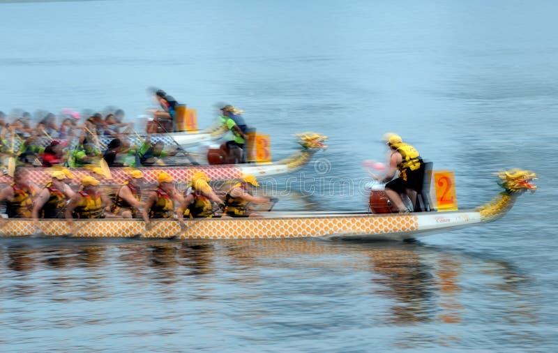 Barco del dragón foto de archivo