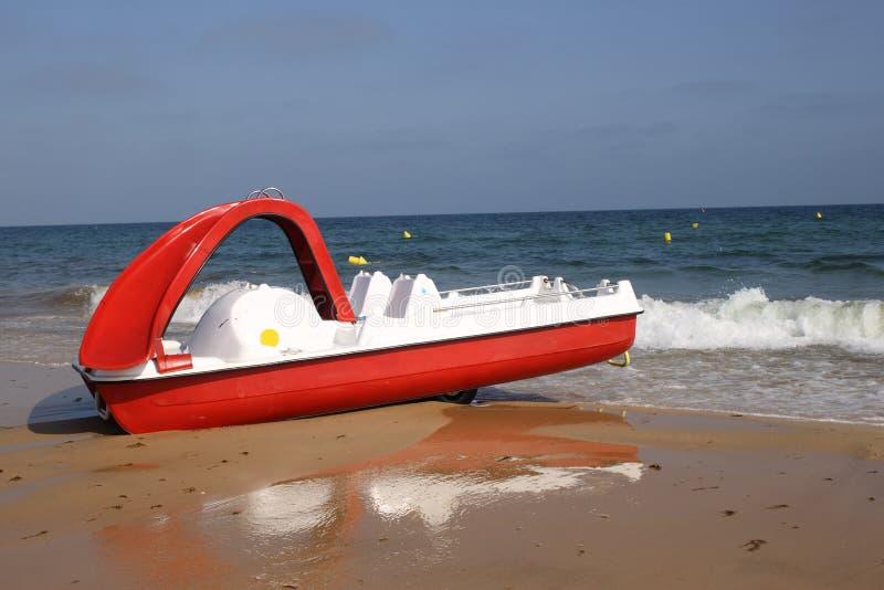 Barco del pedal fotografía de archivo