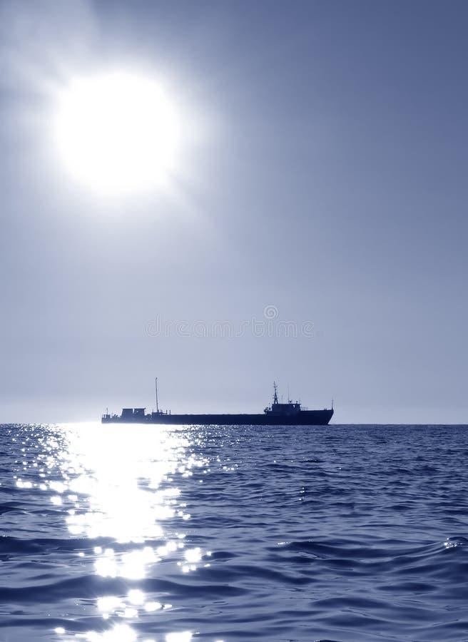 Barco del transporte imagen de archivo