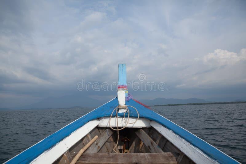 Barco delantero fotografía de archivo