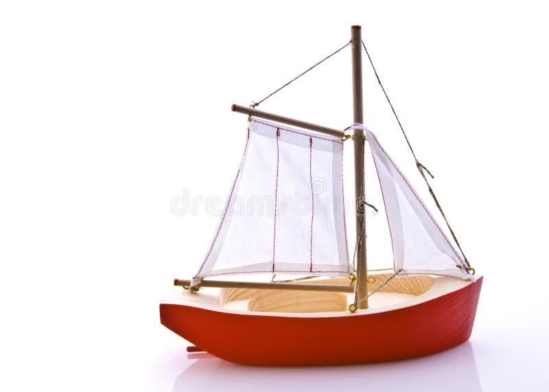 Barco do brinquedo fotografia de stock royalty free