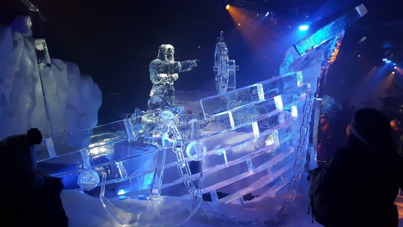 Barco do gelo fotos de stock