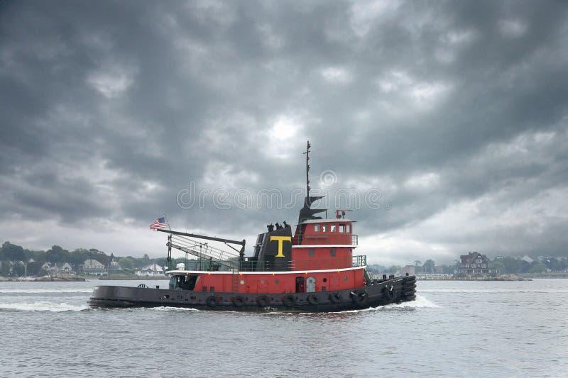 Barco do reboque imagens de stock royalty free
