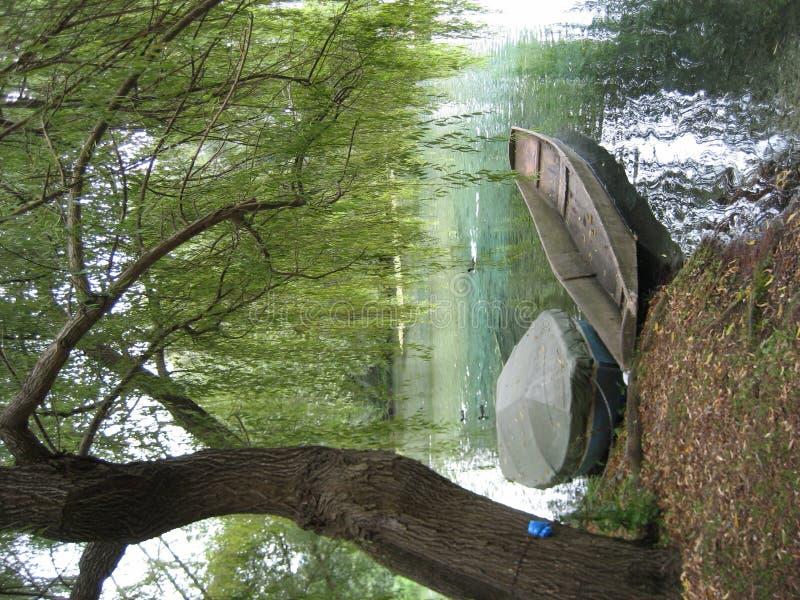 Barco dois imagem de stock