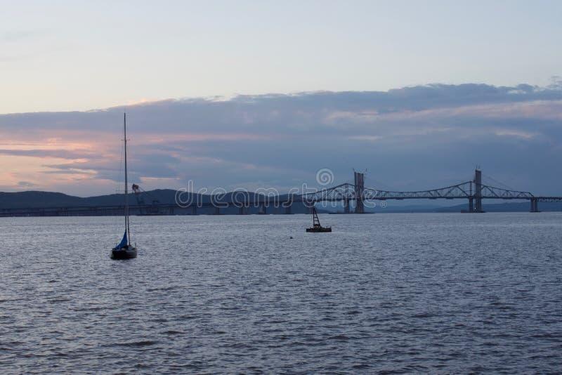 Barco el Hudson fotos de archivo
