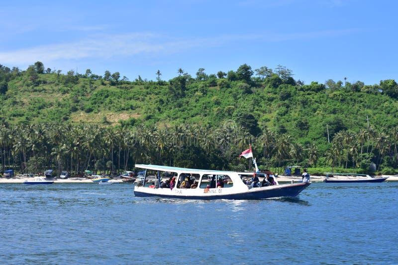 Barco em Lombok foto de stock royalty free