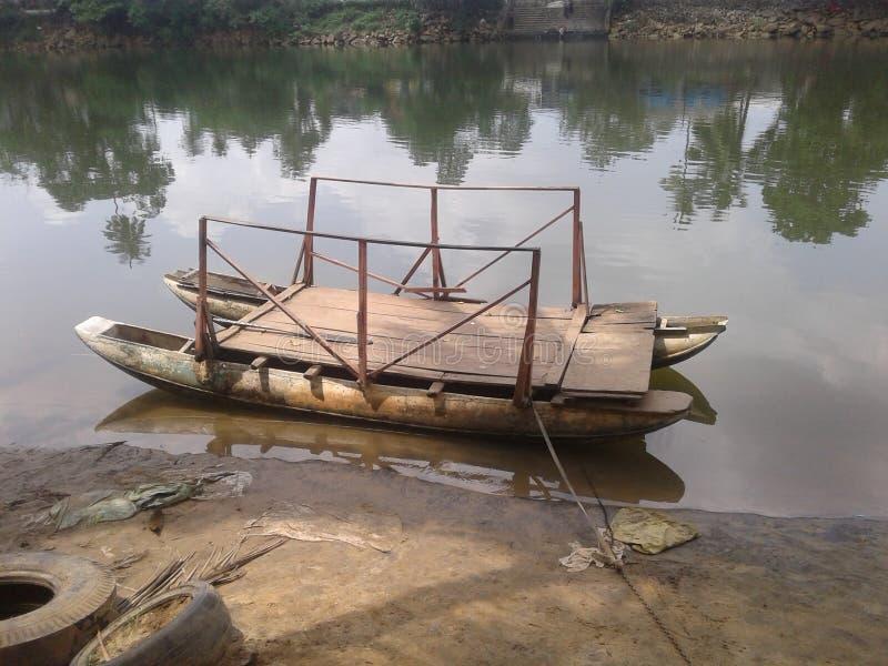 barco en Sri Lanka imagen de archivo