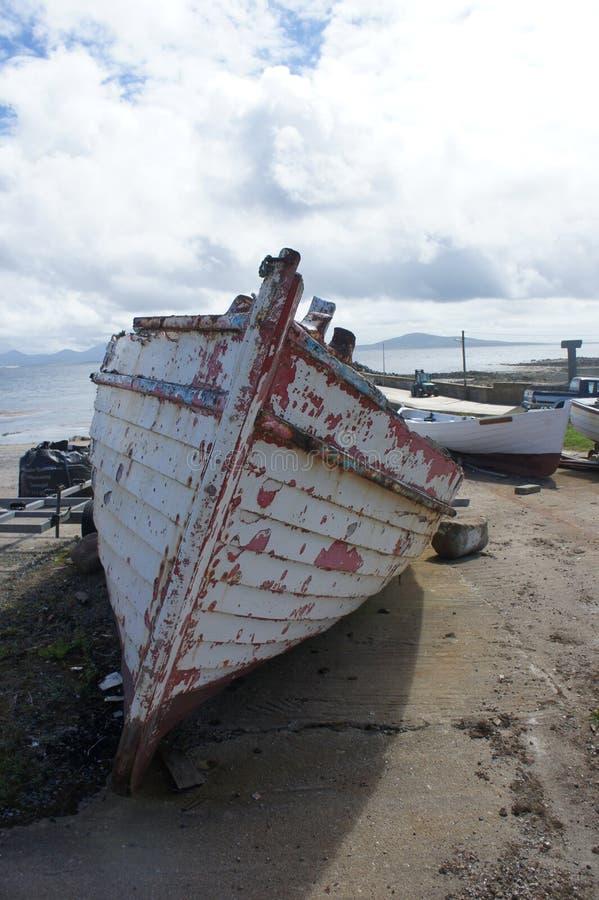 Download Barco En Tory Island Donegal Foto de archivo editorial - Imagen de pista, pesca: 44856178