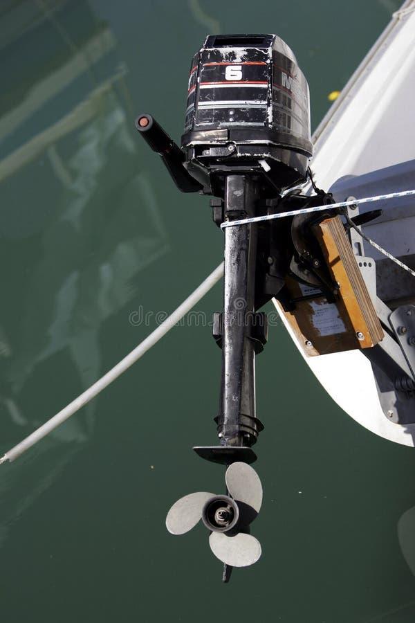 Barco Enginge foto de stock