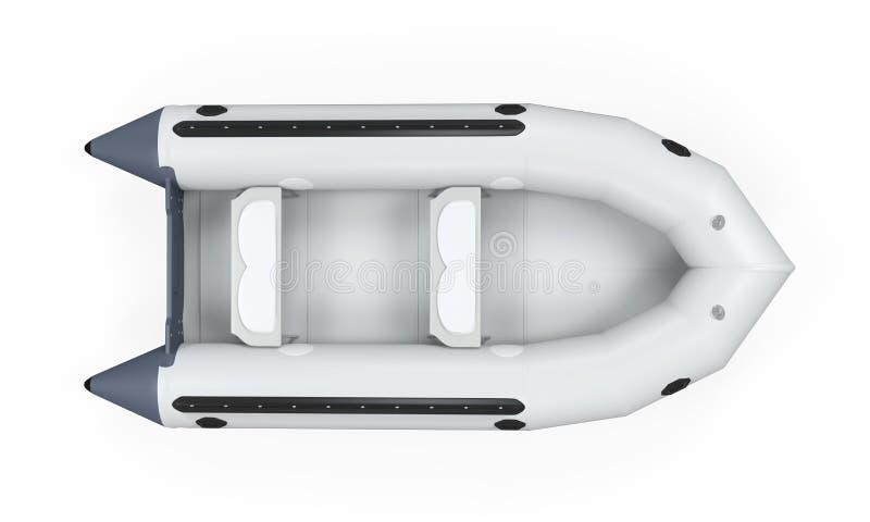 Barco inflable foto de archivo