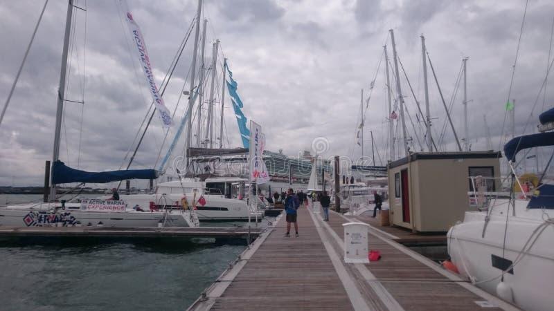 Barco justo foto de archivo libre de regalías