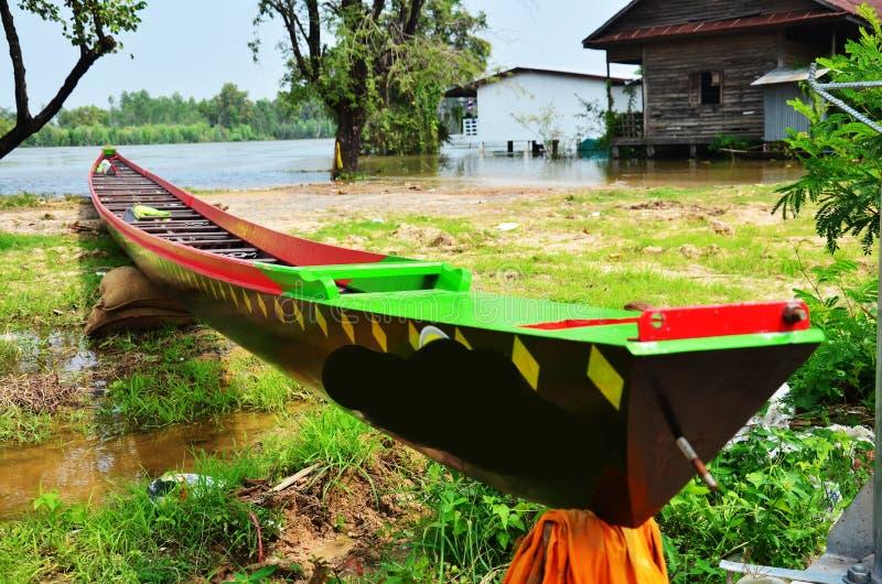 Barco largo para competir con en Surin Tailandia fotografía de archivo