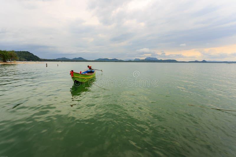 barco Longo-atado imagem de stock royalty free