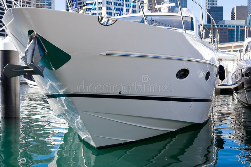 Barco luxuoso fotografia de stock royalty free