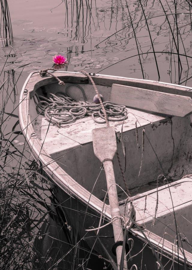 Barco preguiçoso imagens de stock
