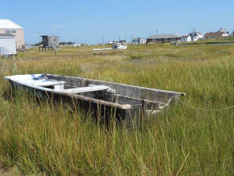 Barco resistido; abandonado fotos de archivo