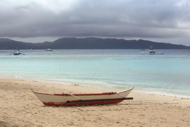 Download Barco só foto de stock. Imagem de clear, solitário, outdoor - 12813144