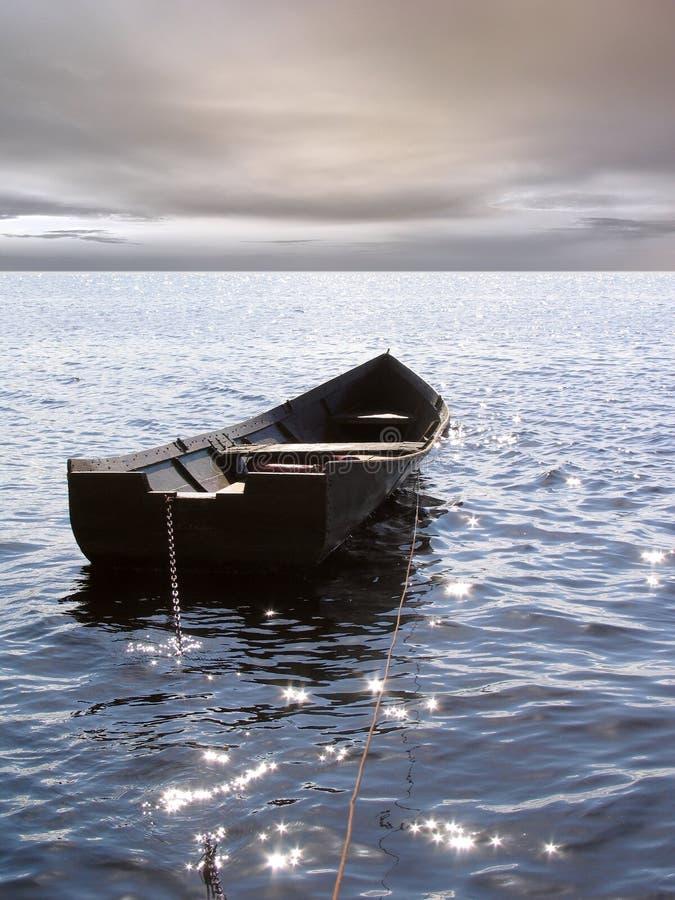 Barco só foto de stock royalty free