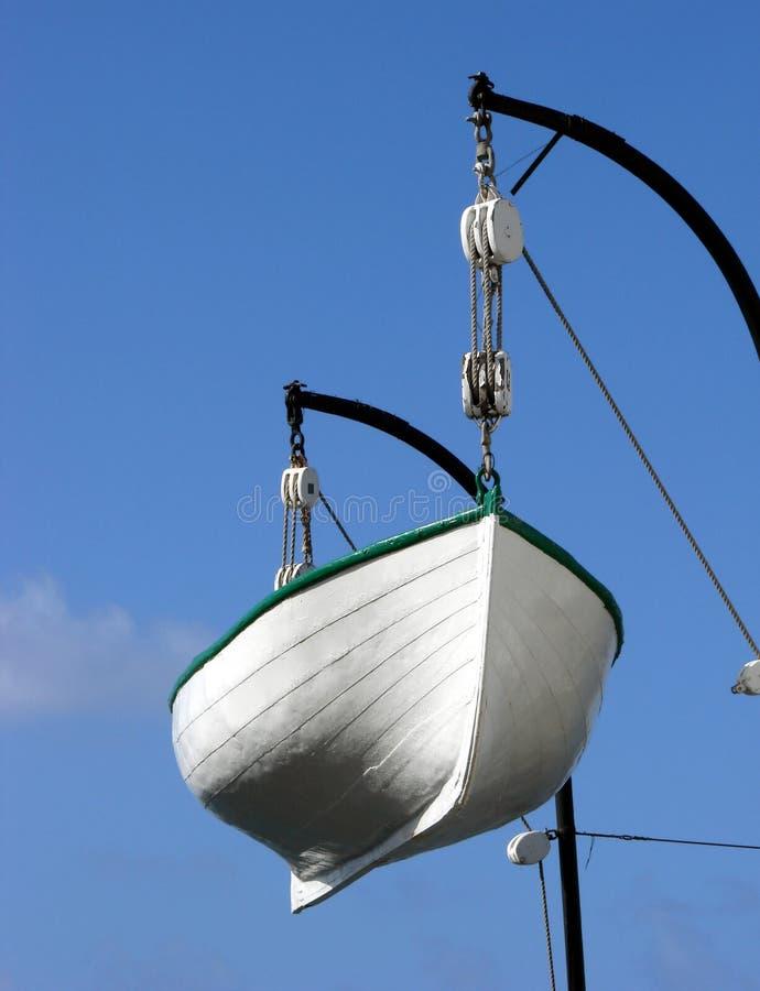 Barco salva-vidas imagem de stock