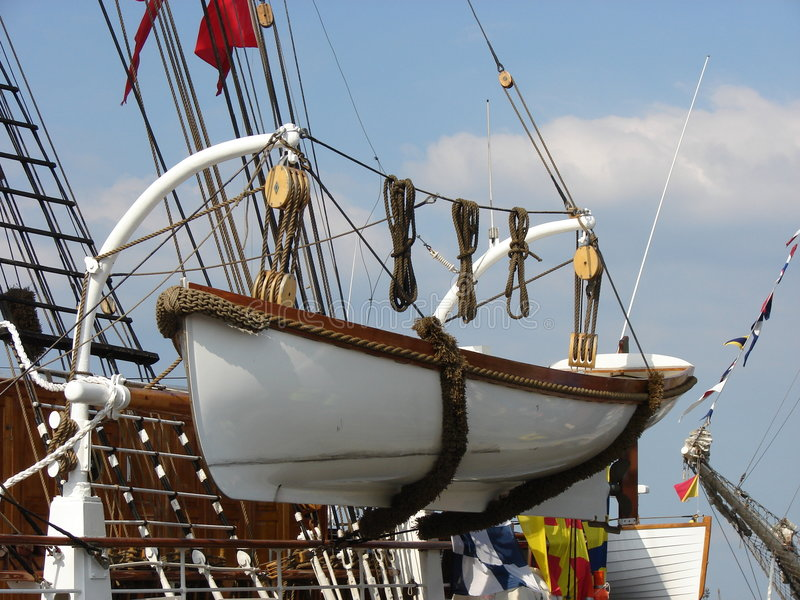 Barco salva-vidas imagens de stock royalty free