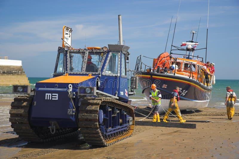Barco salva-vidas de Ramsey foto de stock