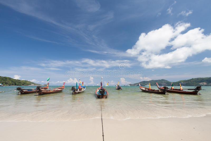 Download Barco Tailandés Tradicional De Longtail Imagen de archivo - Imagen de famoso, cinta: 64207007