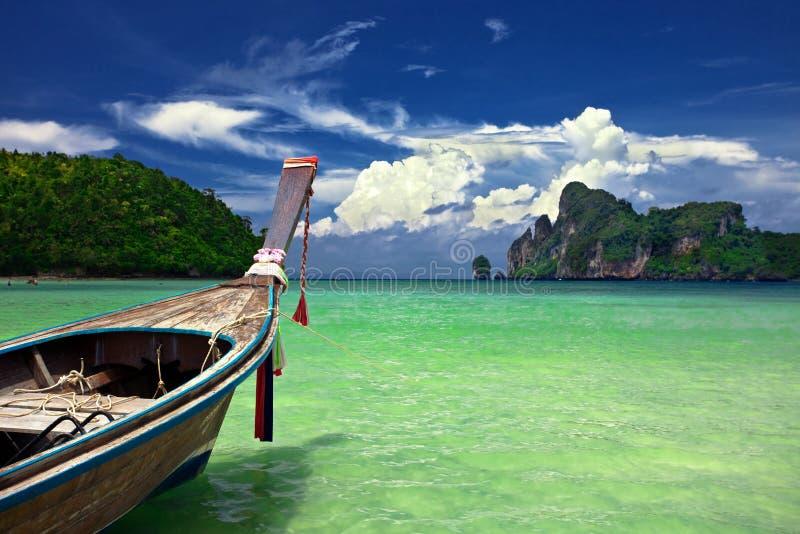 Barco tailandês foto de stock royalty free